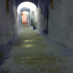 lege straat in Fez
